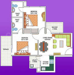 2 BHK Apartment in