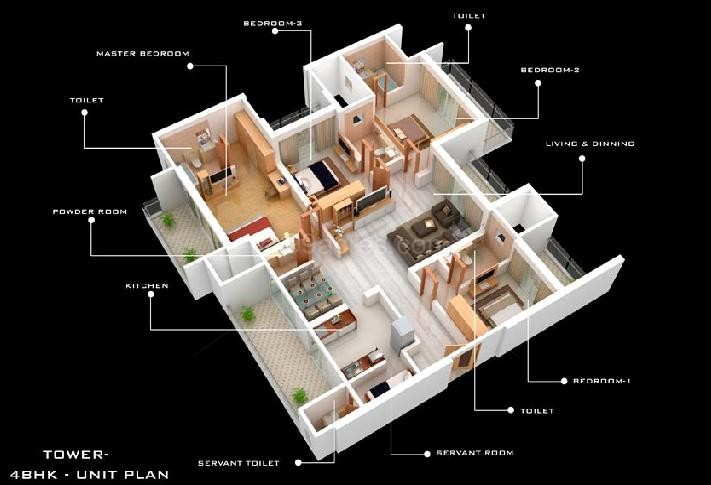 Kamla landmarc group kamla landmarc nirvana floor plan for 3000 sq ft apartment floor plan