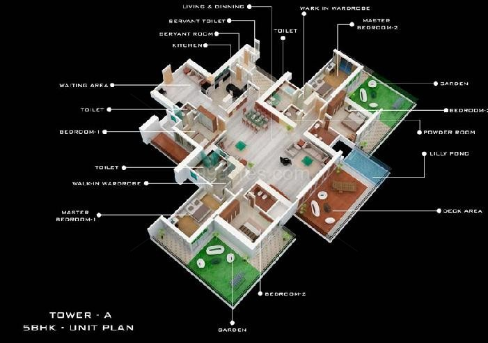 Kamla landmarc group kamla landmarc nirvana floor plan for 5000 sq ft to acres