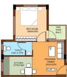 1 BHK Apartment in Bengal Greenfield Ambition