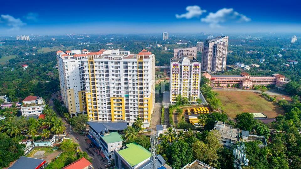 Green Vistas Prakrriti Aerial View