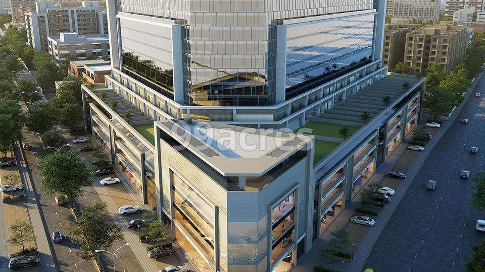 Solaris Business Hub Aerial View