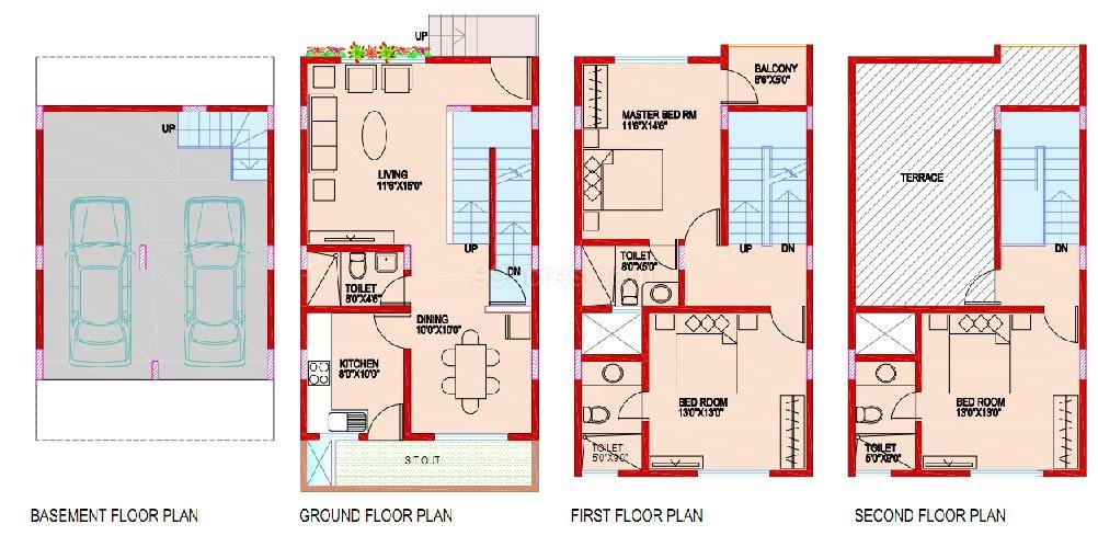 Aashish Developer Builders Rajni Ashish Rose Floor Plan Rajni