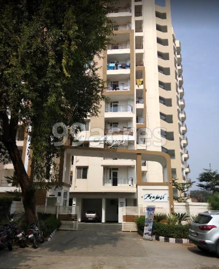 Aashish Santushti Pamposh Apartments Entrance