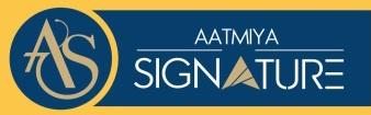 LOGO - Aatmiya Signature