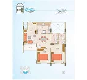 2 BHK Apartment in Aqua Breeze