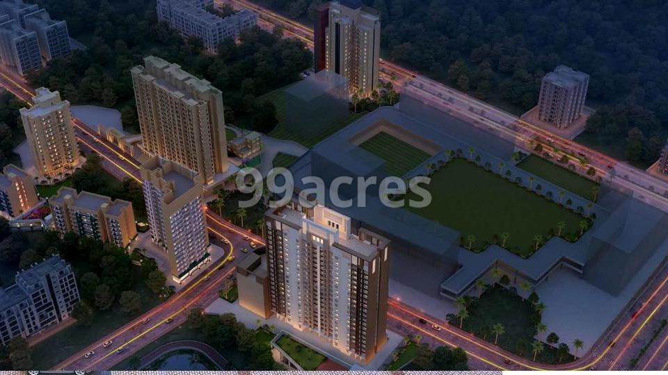 Metropolis Insignia Towers Aerial View