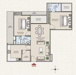 2 BHK Apartment in ABL Park Regency