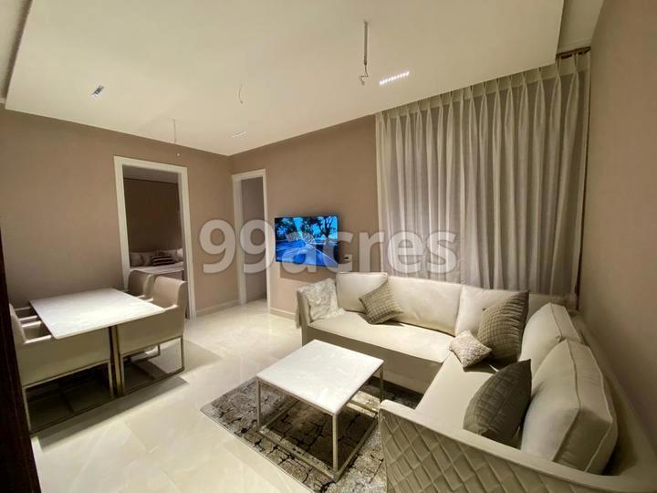 The Address Living Room