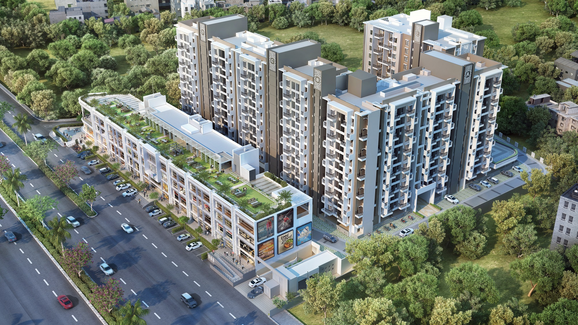 Adi W57 Aerial View