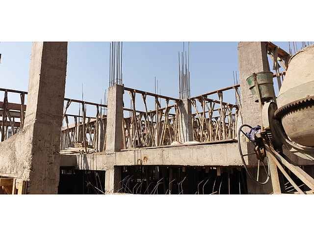 Amrit Valley Apartment construction status 09/02/2021