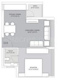 1 BHK Apartment in Dream City