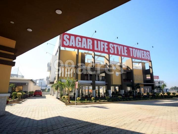 Agrawal Sagar Life Style Towers Entrance