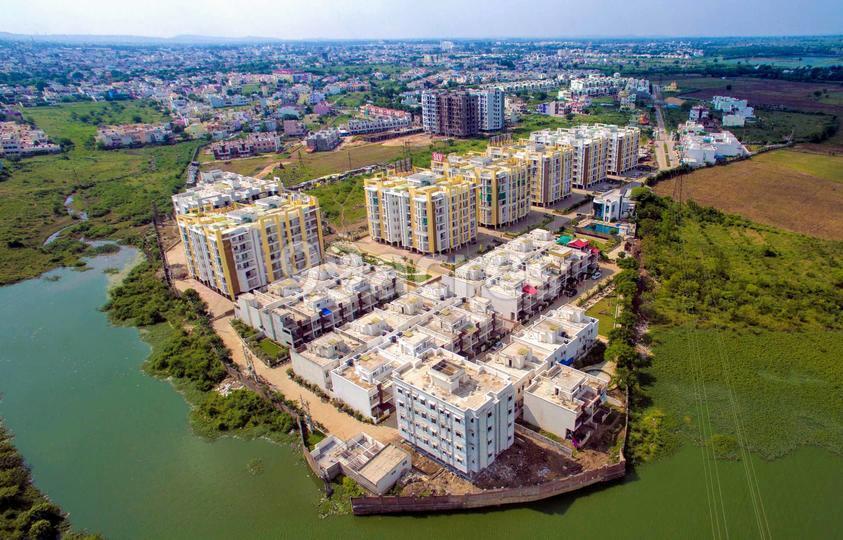 Agrawal Sagar Lakeview Homes Aerial View