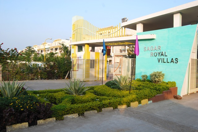Sagar Royal Villas Entrance