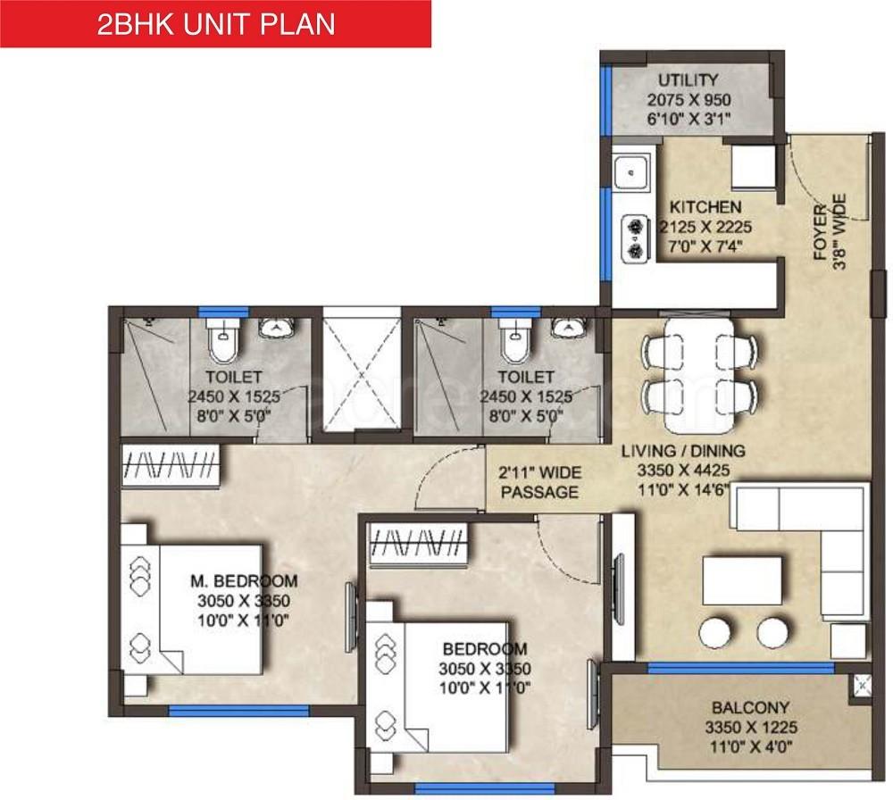 kumar properties and abil megapolis symphony floor plan