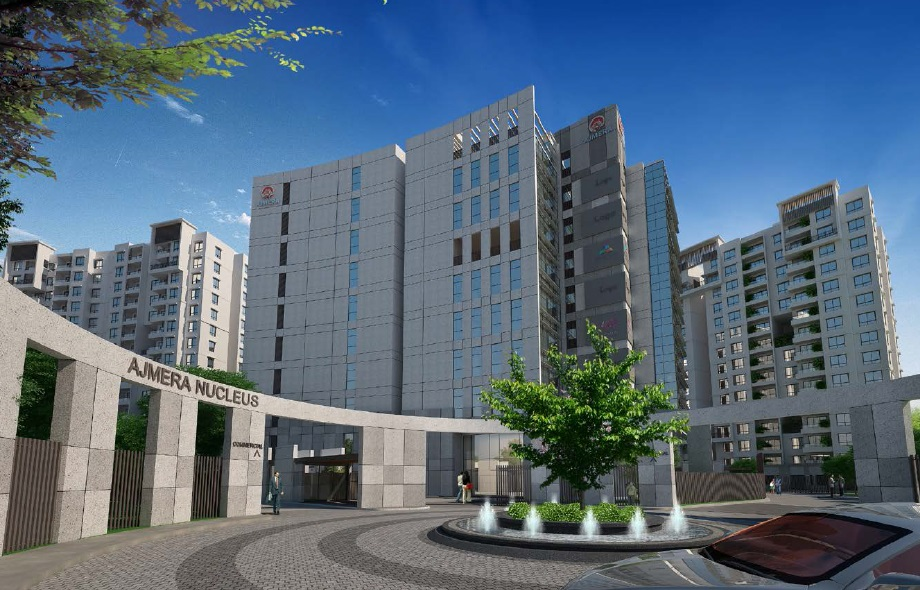1 BHK Apartment / Flat for sale in Ajmera Nucleus Electronic