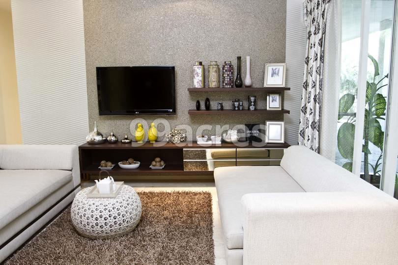 Ajmera Aeon Living Room