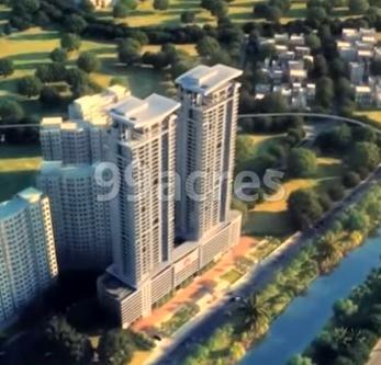 Ajmera Treon Aerial View