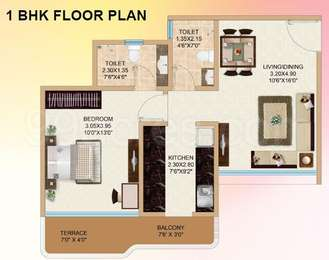 1 BHK Apartment in Ajmera Exotica