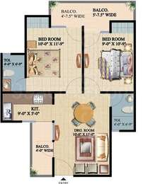 2 BHK Apartment in Ajnara Integrity