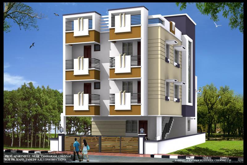 AK Constructions Aaji Maple Maha Laxmi Nagar Chennai South