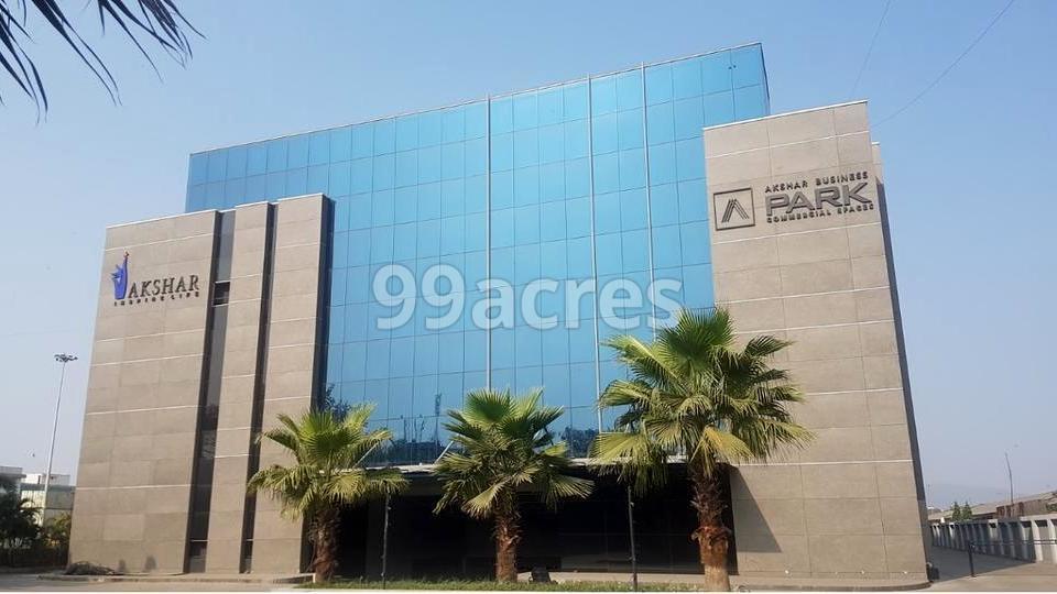Akshar Business Park Elevation