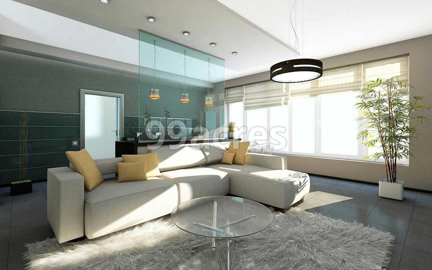 Akshar Aashray Living Room