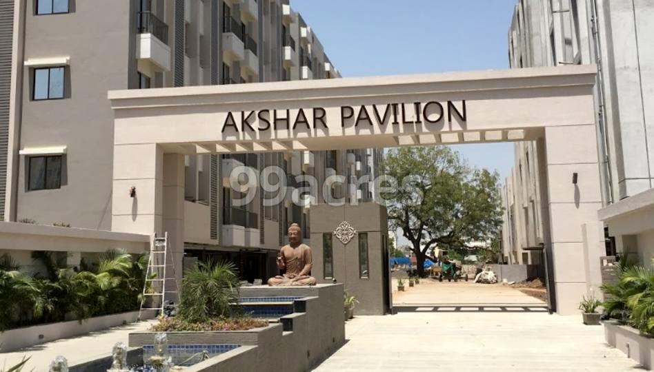 Akshar Pavilion Entrance