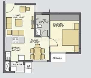1 BHK Apartment in Akshaya January