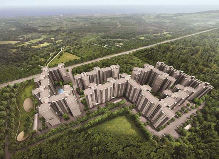Akshaya Today Aerial View