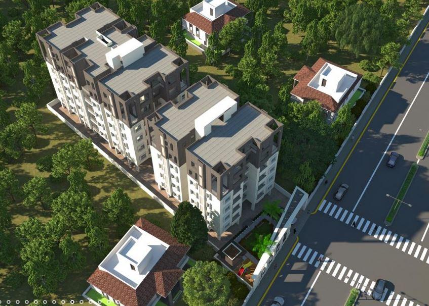 Alton Enclave Aerial View