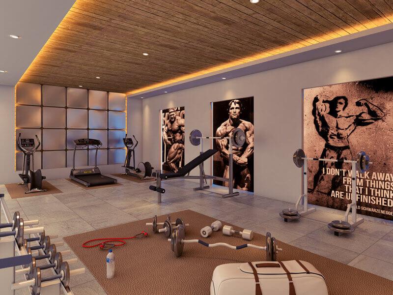 Ambika Pinnacle Residency Artistic Gym