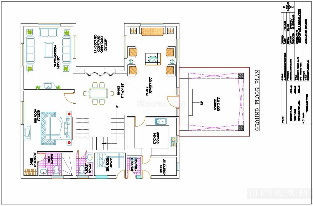 Ambrosia Grandeur Builders Ambrosia Grandeur Floor Plan