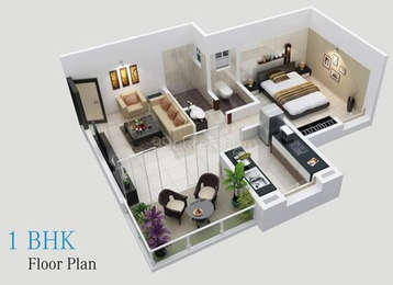 1 BHK Apartment in Ammons Aawas
