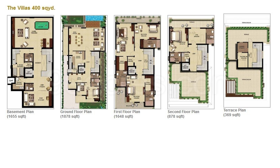 Anant raj builders anant raj estates floor plan anant for House plan with basement parking