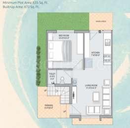 1 BHK Villa in Ananta Swagatam