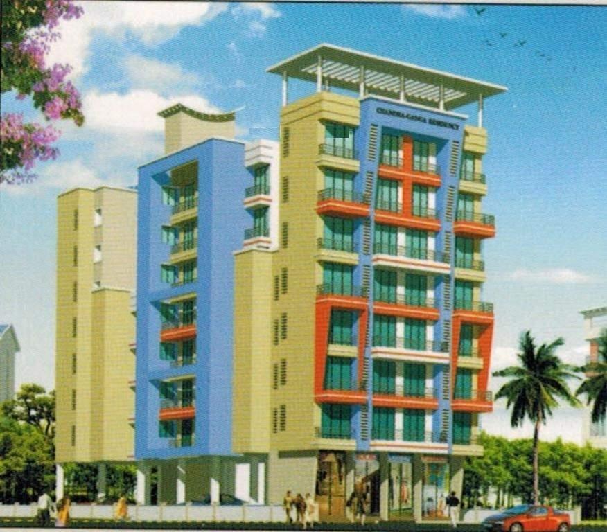 Anchit Chandra Ganga Residency Building View