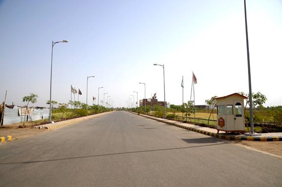 Ansal API Sushant City Internal Road