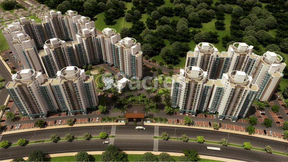 Ansal API Sushant Megapolis Aerial View