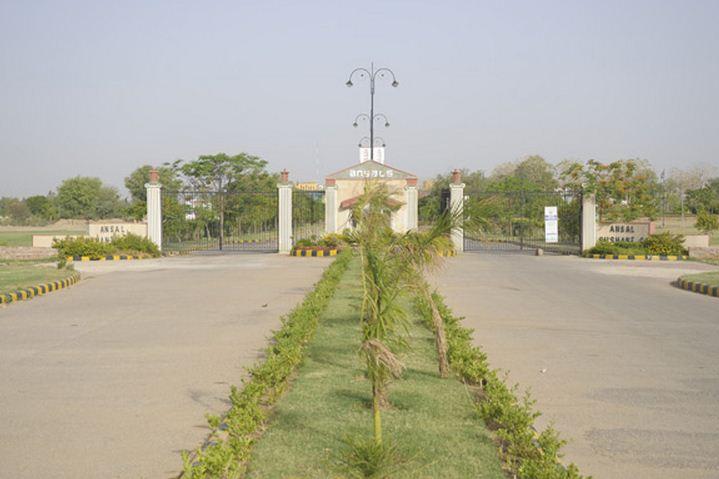 Ansal Sushant City 1 Entrance