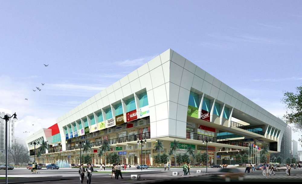 Ansal Sushant Square 3A Front View