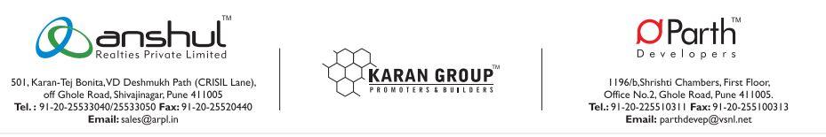 Anshul Realties and Karan Group and Parth Devp