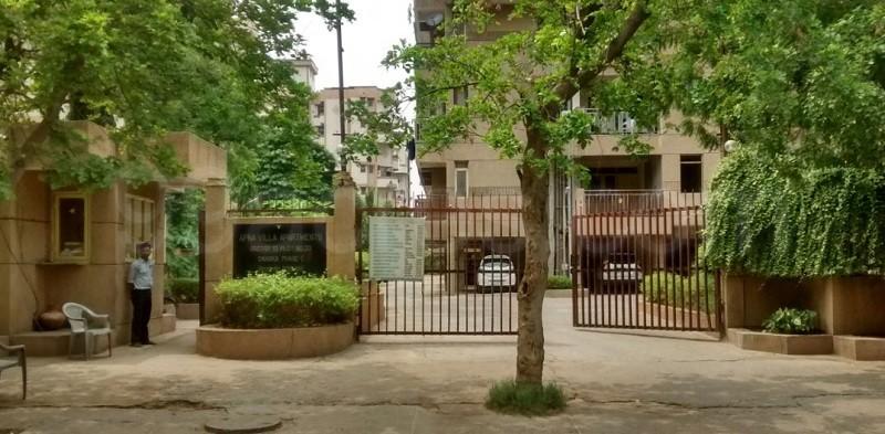 Antriksh Apna Villa Apartments Entrance View