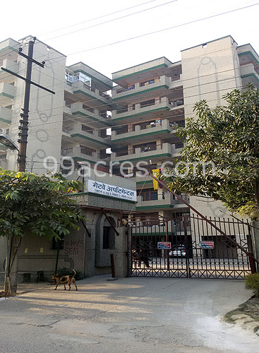 Antriksh Gateway Apartment Entrance