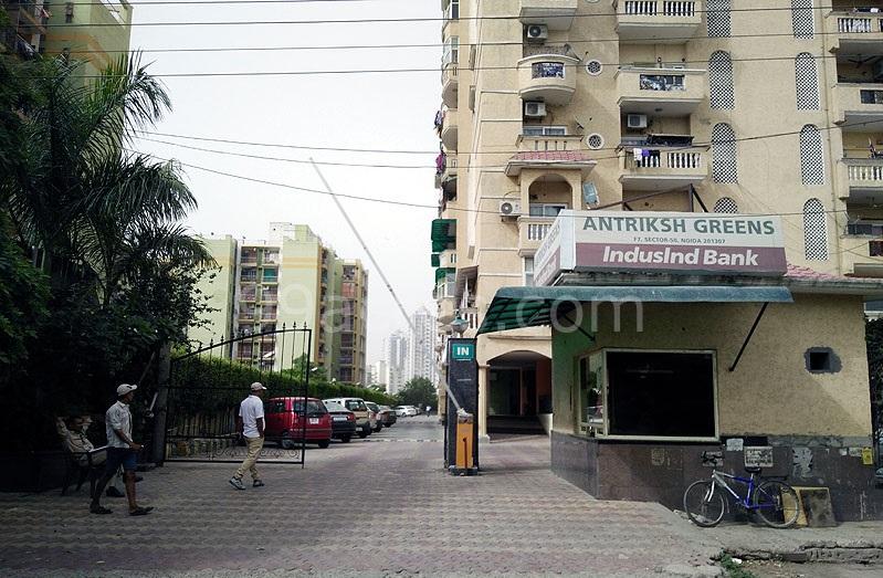 Antriksh Greens Entrance
