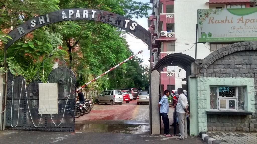 Antriksh Rashi Apartments Entrance