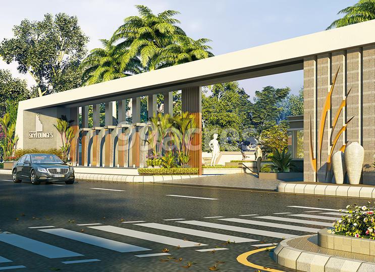 Anukampa Sky Lounges Entrance