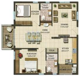 2 BHK Apartment in Aparna Cyber Life