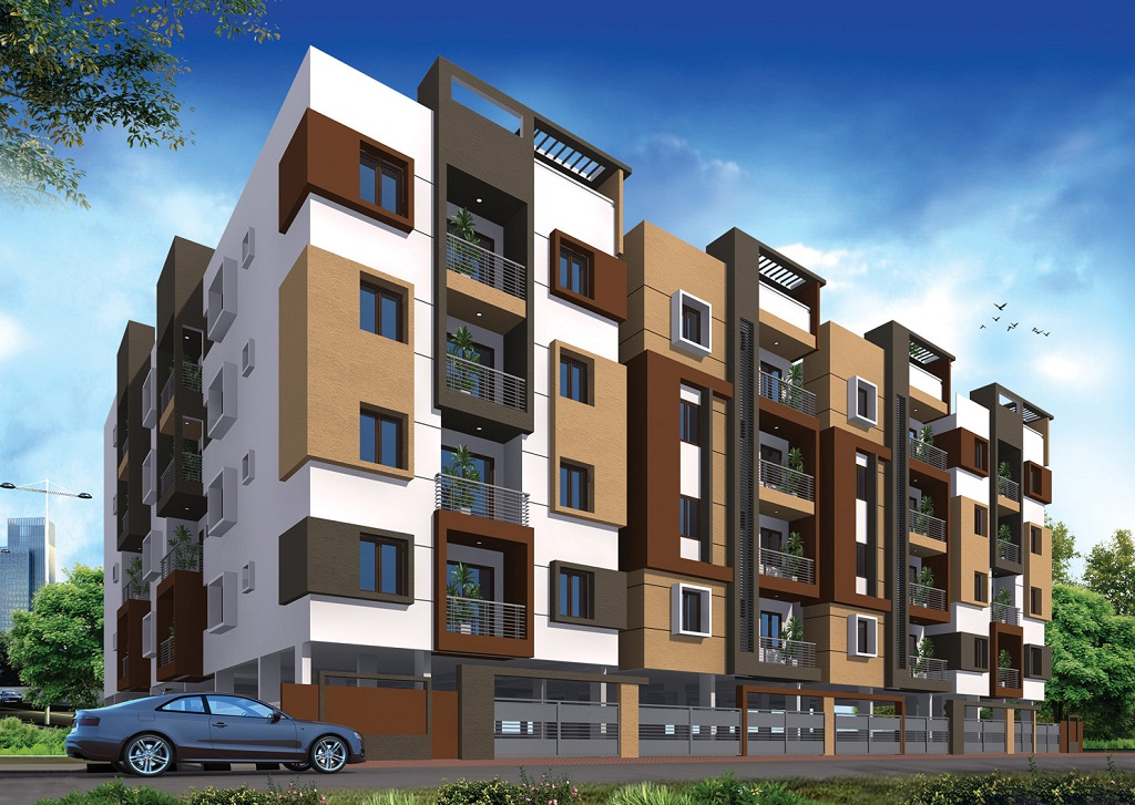 Apple Crystal Apartments in KR Puram, Bangalore East
